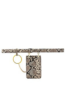 Blow The Belt Ari Python Belt Bag Coupon Code