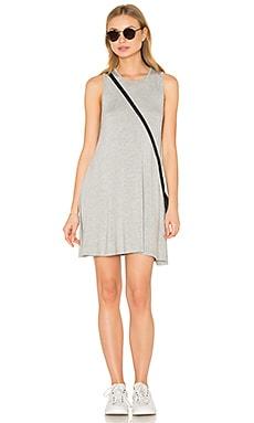 BLQ BASIQ Swing Mini Dress in Heather Grey