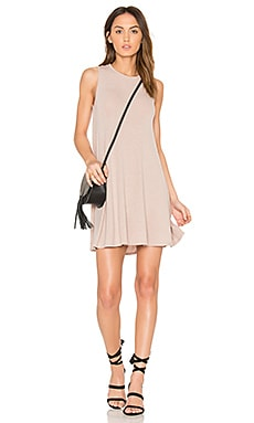 Hacci Swing Dress in Tan