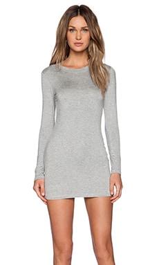 BLQ BASIQ Mini Dress in Grey