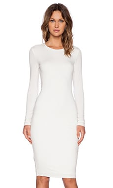 BLQ BASIQ Longsleeve Dress in Ivory