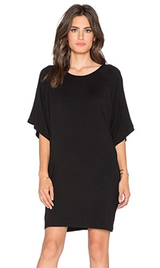 BLQ BASIQ T-Shirt Dress in Black