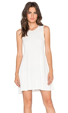 BLQ BASIQ Tank Mini Dress in White