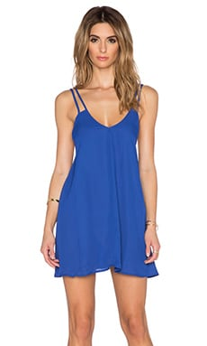 BLQ BASIQ Tank Dress in Cobalt