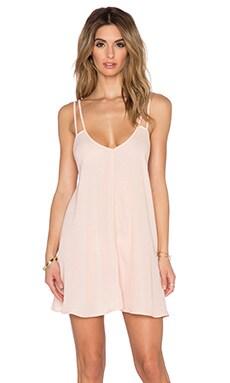 BLQ BASIQ Tank Dress in Peach