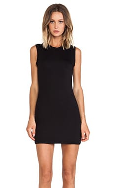 BLQ Basics Tank Dress in Black