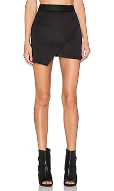 BLQ BASIQ Scuba Skort in Black