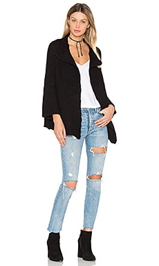 Oversize Knit Cardigan Sweater
