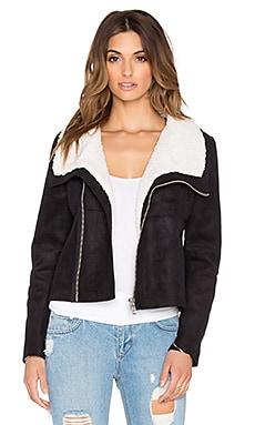 BLQ BASIQ Moto Jacket in Black