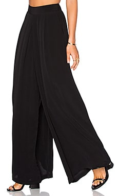 BLQ BASIQ Loose Pant in Black
