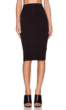 BLQ BASIQ Pencil Skirt in Black