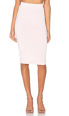 Pencil Skirt in Light Pink