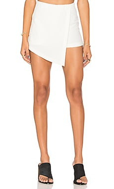 BLQ BASIQ Skort in White