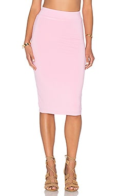 x REVOLVE Pencil Skirt in Petal Pink