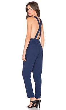 BLQ BASIQ Jumpsuit in Navy