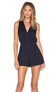 BLQ BASIQ Romper in Navy
