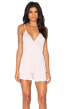 Sleeveless Romper in Light Pink