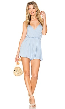 Romper in Dust Blue