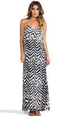 Summer Lovin' Maxi Dress en Tie & Dye Aztèque