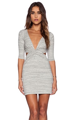 Blue Life 3/4 Sleeve BB Dress in Marble Grey