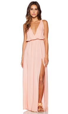 High Tide Maxi Dress in Pink
