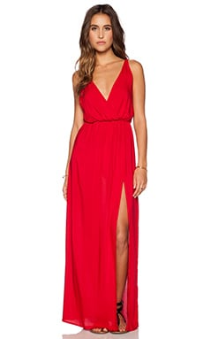 High Tide Maxi Dress in Red