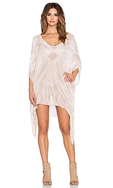 V Neck Cape Cool Caftan