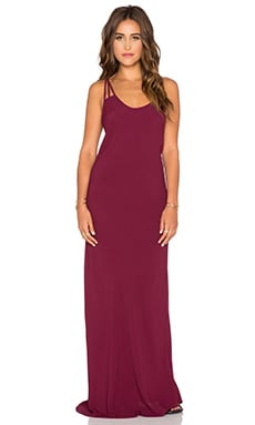 Boho Babe Maxi Dress in Bordeaux