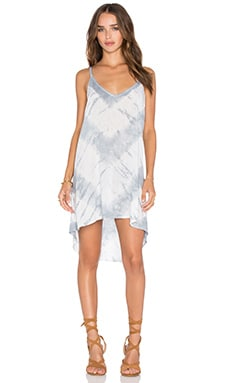 Exile Dress in White Feather