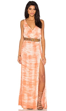 High Tide Maxi Dress in Moonstar