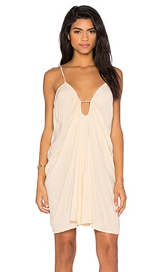 Drape Criss Cross Back Dress
