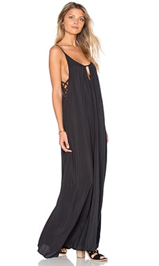 Desert Night Maxi Dress in Soft Black