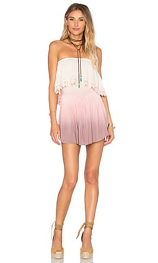 Blue Life Festival Romper in Magic Ombre