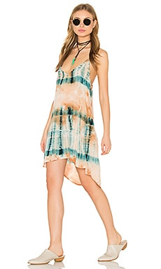 Blue Life Exile Dress in Desert Citrine