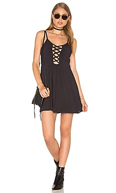 Good Fortune Dress en Soft Black