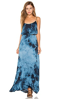 Kate Maxi Dress in Blue Dream