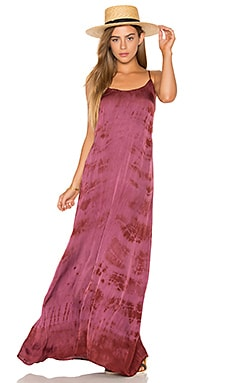 Kate Maxi Dress in Sangria