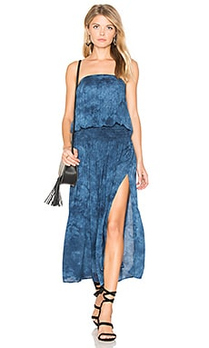 Good Karma Maxi Dress in Mediterranean