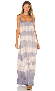 Kate Maxi Dress in Violet Cosmo