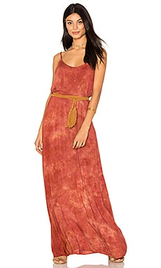 Spring Lovin Maxi Dress in Mykonos Sunset