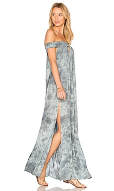 The Charmer Maxi in Sage Grey