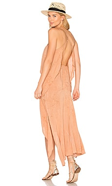Casbah Tiered Maxi in Rain Sunset