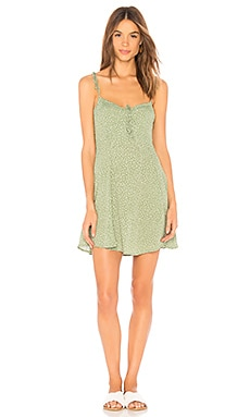 x REVOLVE Sienna Corset Dress Blue Life $163