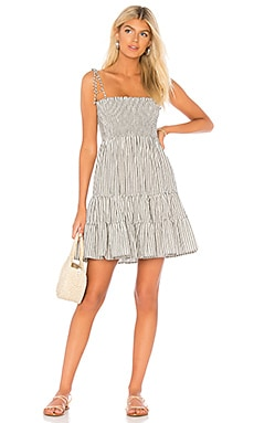 x REVOLVE Summer Breeze Mini Dress Blue Life $137