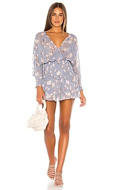 x REVOLVE Virgo Dress Blue Life $207