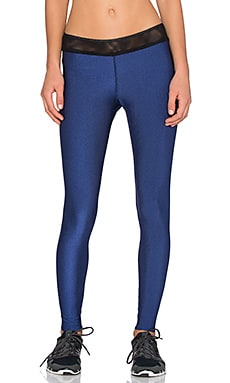 Blue Life Reversible Diamond Legging in Ultramarine