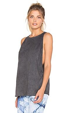 Blue Life Open Arm Tank in Onyx