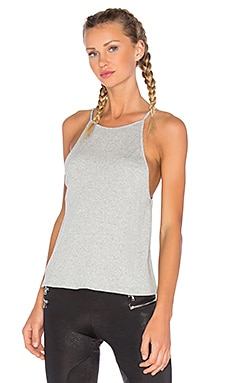 High Neck Tank in Grey