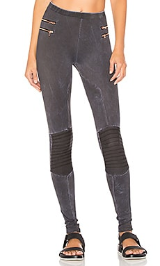Zipper Moto Leggings