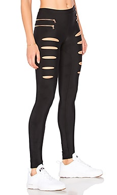 Fit Slashed Moto Legging